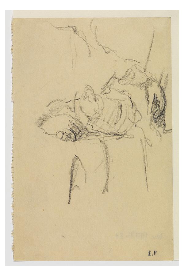 Eine Abbildung von Edouard Vuillards Teilstudien für sein Porträt von Madame Bénard, die 1928/29 entstanden.